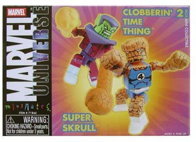 MARVEL MINIMATES EXCLUSIVE SUPER SKRULL/THING
