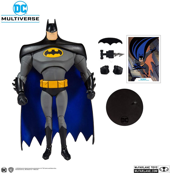 DC ANIMATED 7IN SCALE WV1 AF BATMAN