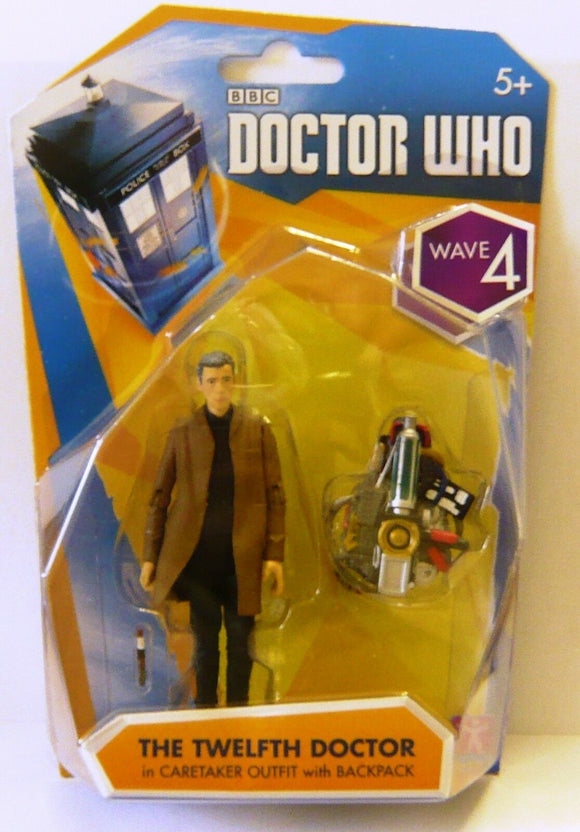 DOCTOR WHO 3.75IN AF 12TH DOCTOR IN CARETAKER OUTFIT