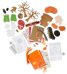 table decorating kit for Thanksgiving & Christmas
