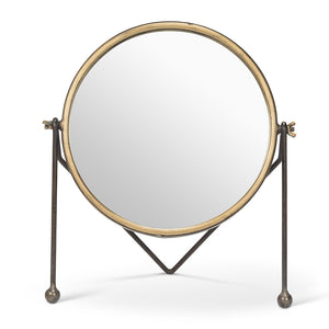 mirror-round with legs