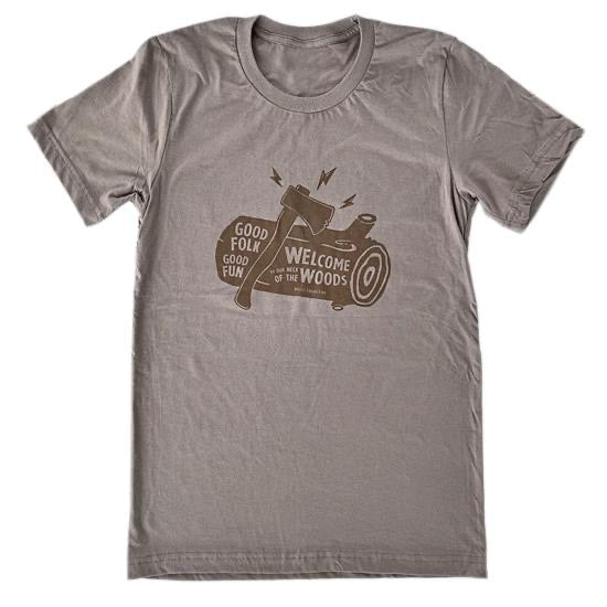 Kootz Collective neck of the woods tee