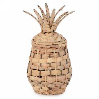 rattan pineapple basket
