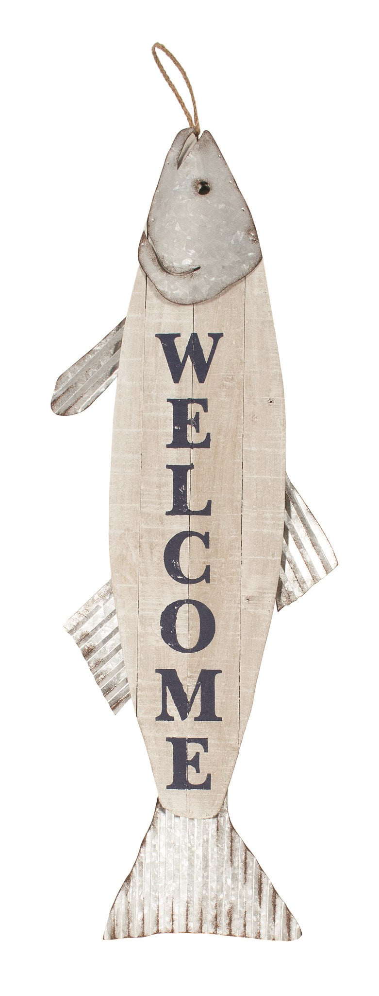 wall art- welcome fish
