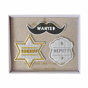 Meri Meri sheriff pin set