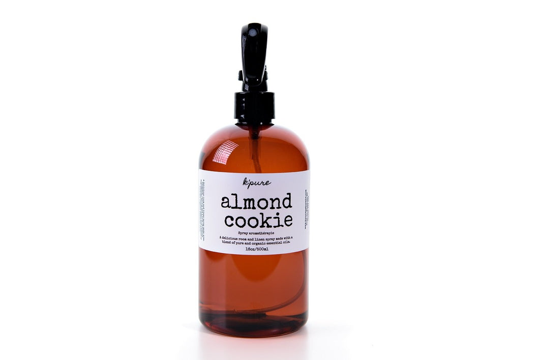 K'pure almond cookie room and linen spray