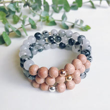 Load image into Gallery viewer, S&S rosewood bracelet
