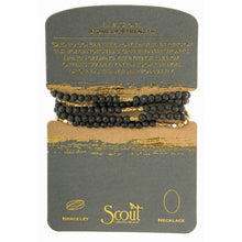 Load image into Gallery viewer, Scout stone wrap bracelet/ necklace