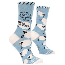 Load image into Gallery viewer, Women's crew socks by Blue Q