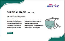Load image into Gallery viewer, Type IIR Medical Face Mask Tie-on Disposable - Pack of 500