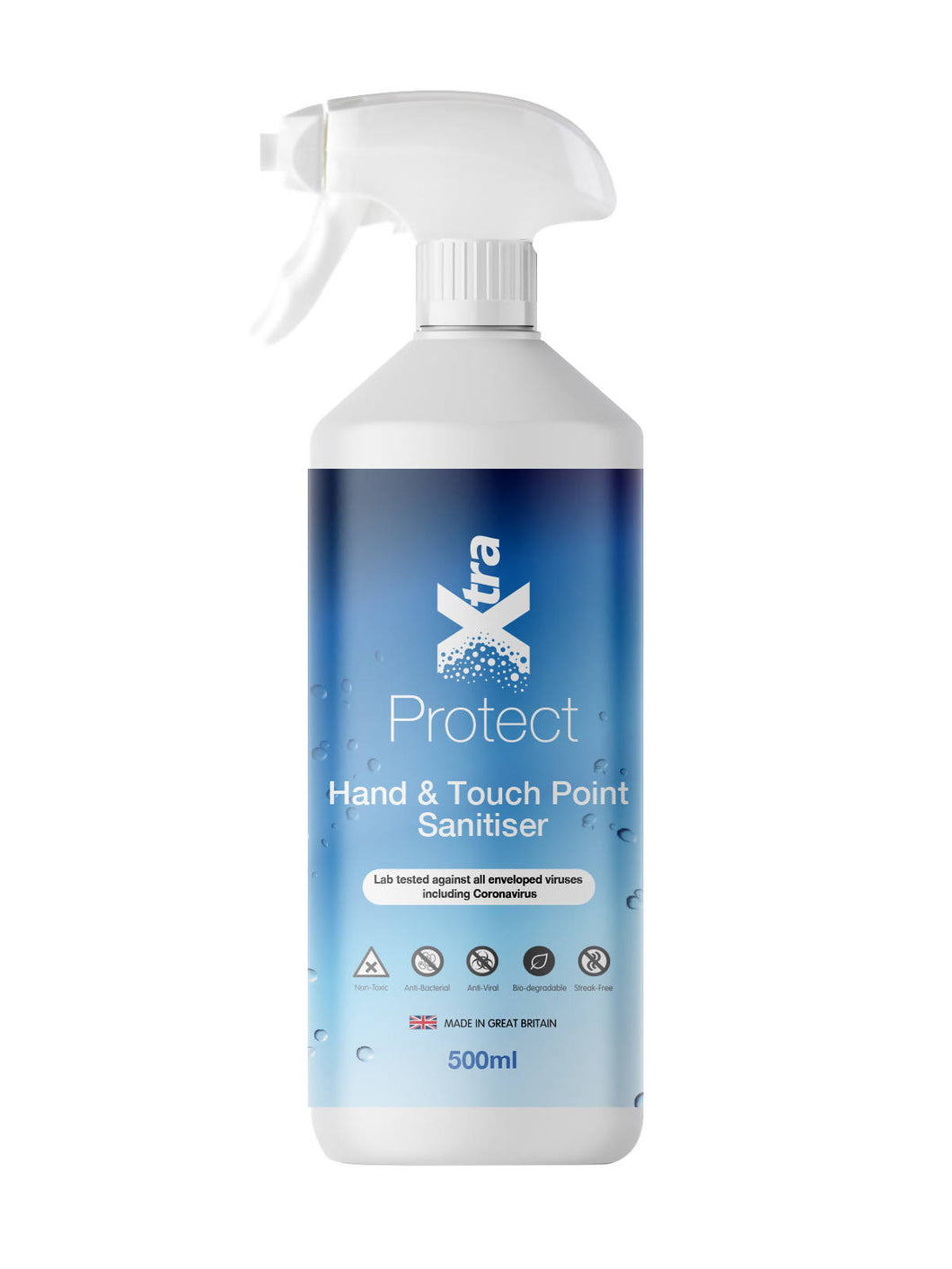 XtraProtect Hand & Touch Point Sanitiser RTU