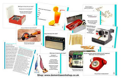 Conversation Starters - Recognise Objects - Care Home Shopping