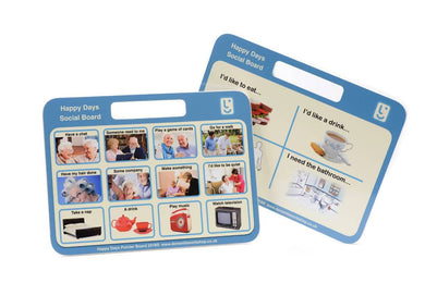 Communication Board - Care Home Shopping
