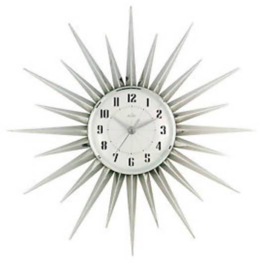 Starburst Wall Clock - Care Home Shopping