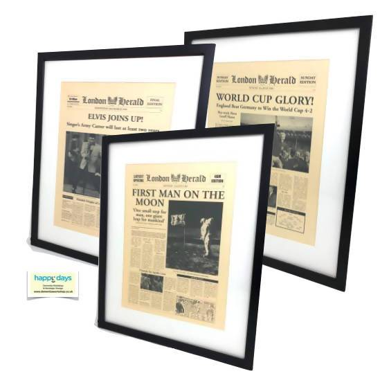 Wall Art: News Headlines - Care Home Shopping