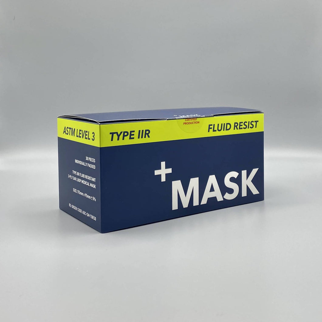 +Mask Type IIR Sterile Fluid Resistant Mask - 150 units - Care Home Shopping