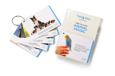 Time to Chat - Animal Magic Conversation Cards - Care Home Shopping