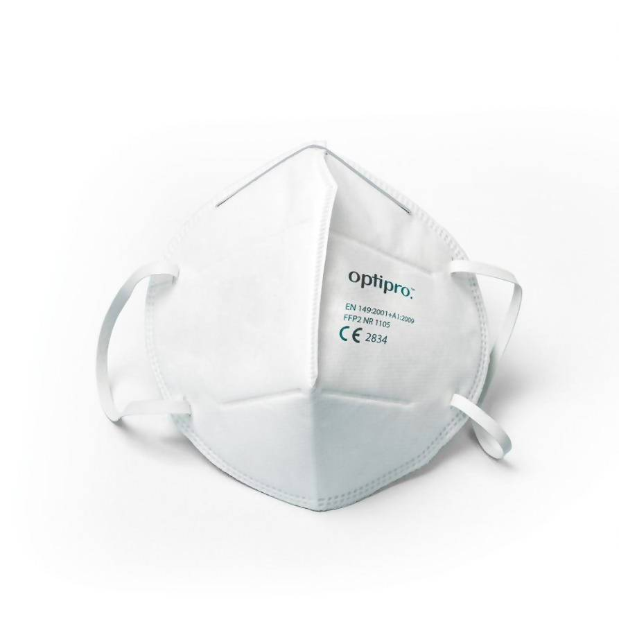OptiPro FFP2 Particulate Respirator (pack of 30) - Care Home Shopping