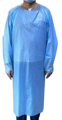 Disposable Long Sleeve Aprons/Gowns - Care Home Shopping