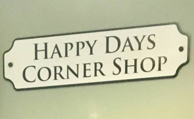 Shop Sign - Care Home Shopping