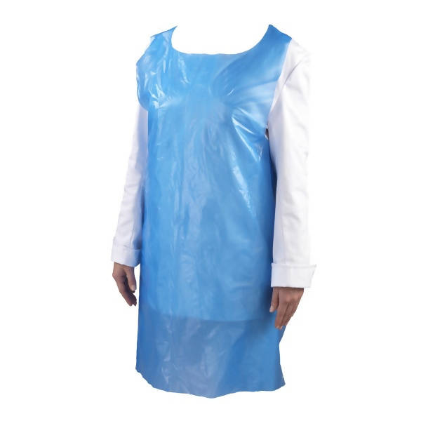 1,000 Rolled Disposable Blue Aprons (ONLY £25.99)