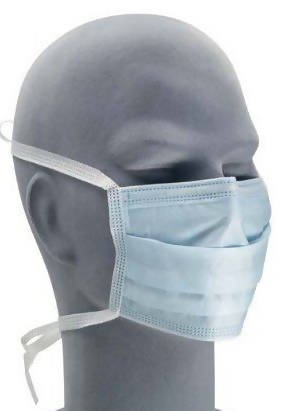 Type IIR Medical Face Mask Tie-on Disposable - Pack of 500