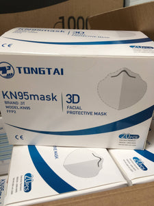 KN95/FFP2 Mask - 95% BFE and PFE filtration (PACK OF 1000)