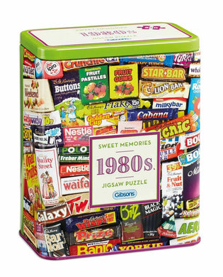Sweet Memories 1980s Jigsaw Puzzle 500pc - Care Home Shopping