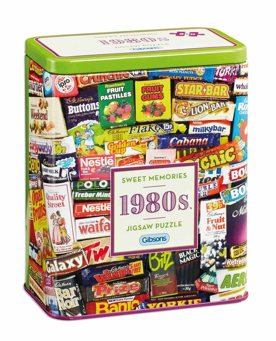 Sweet Memories 1980s Jigsaw Puzzle 500pc