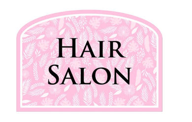 Care Home Social Signage - Hair Salon - Care Home Shopping