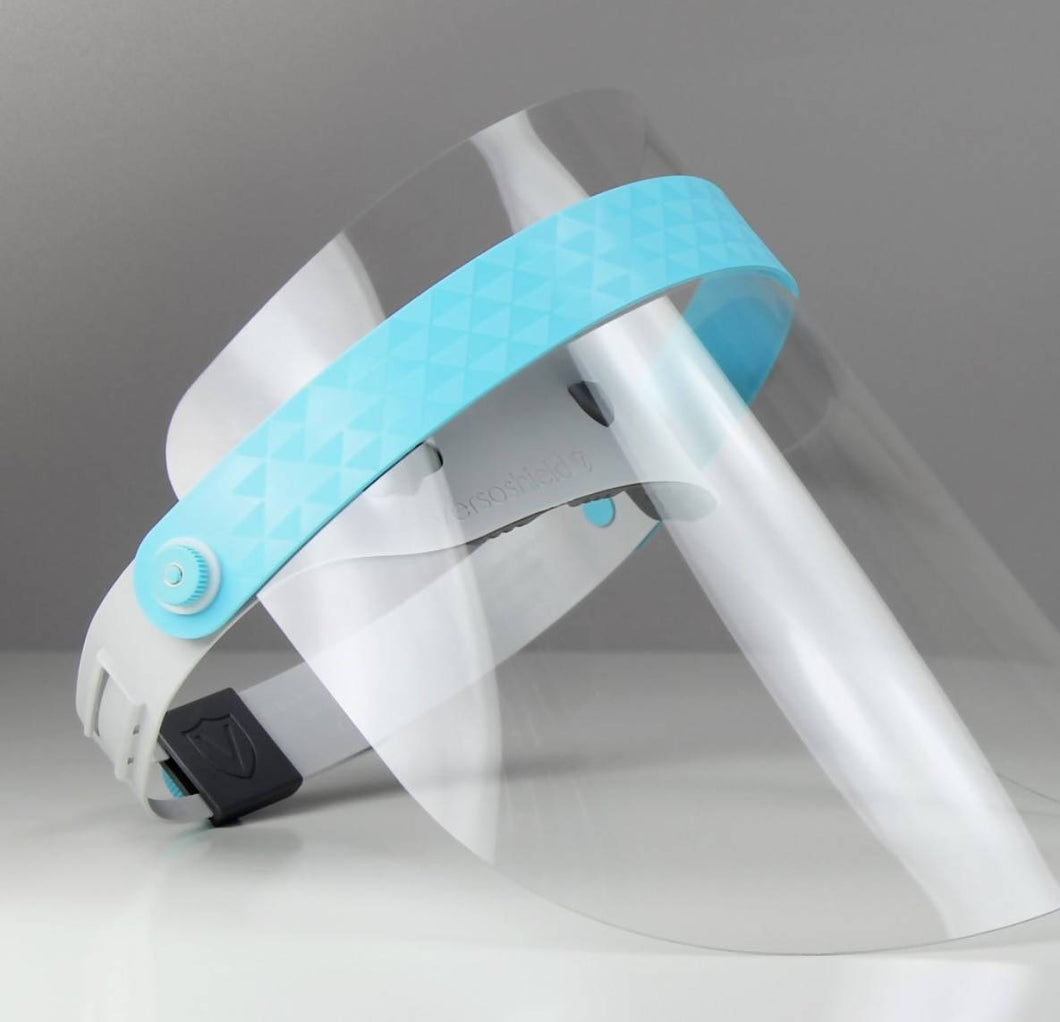 Fully reusable, Antimicrobial medical visor - novushield - NEXT DAY DELIVERY ON ALL ORDERS BEFORE 1PM - Care Home Shopping
