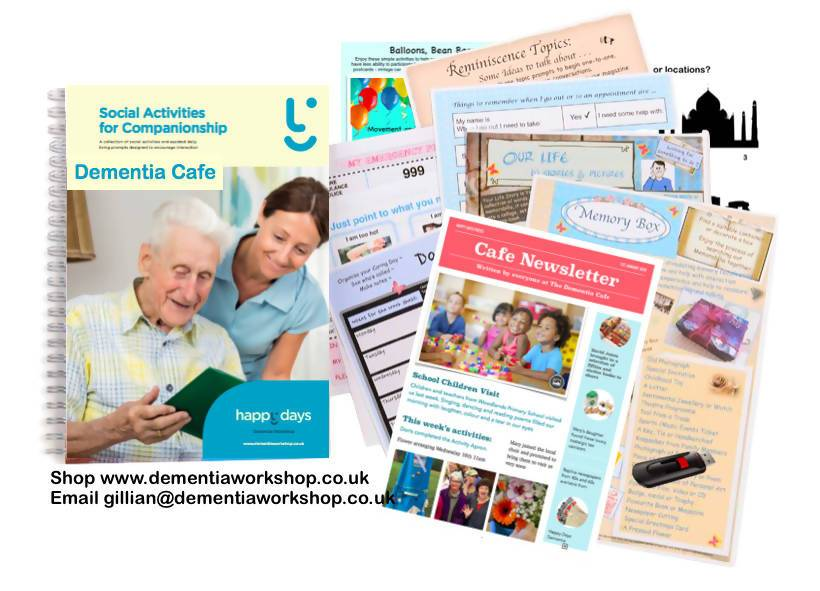 Activity & Memory Prompt Manual for Care Homes & Dementia Groups - Care Home Shopping
