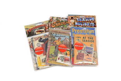 Memorabilia Packs: Garden / Seaside / WWII - Care Home Shopping
