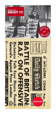 Battle of Britain Replica Newspaper - Care Home Shopping