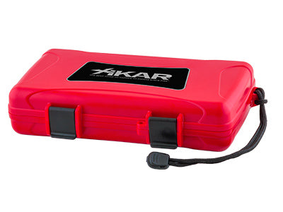 Xikar 5 CT Humidor Red
