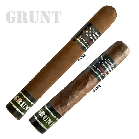 Line of Duty Grunt Robusto 5x52 Box of 20