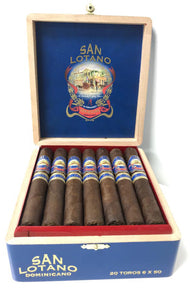 San Lotano Dominicano Toro 20 Count Box