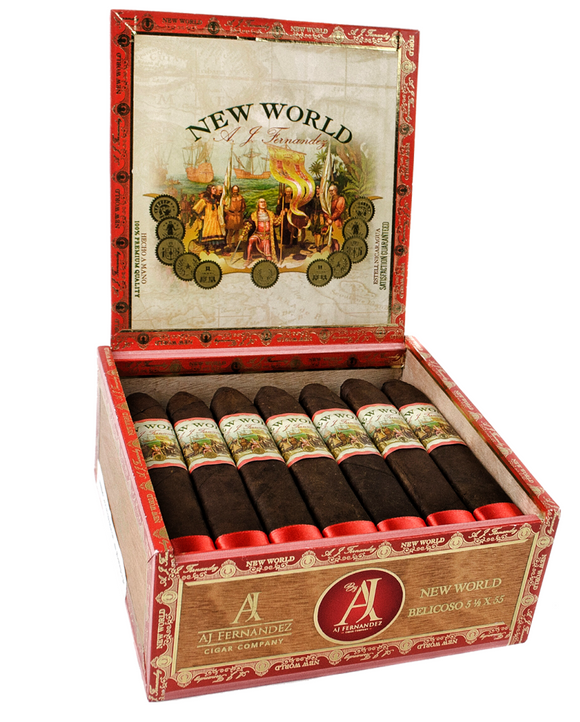 New World Robusto 21 Count Box with FREE Ashtray & Cutter