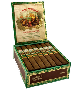 New World Cameroon Robusto 20 Count Box