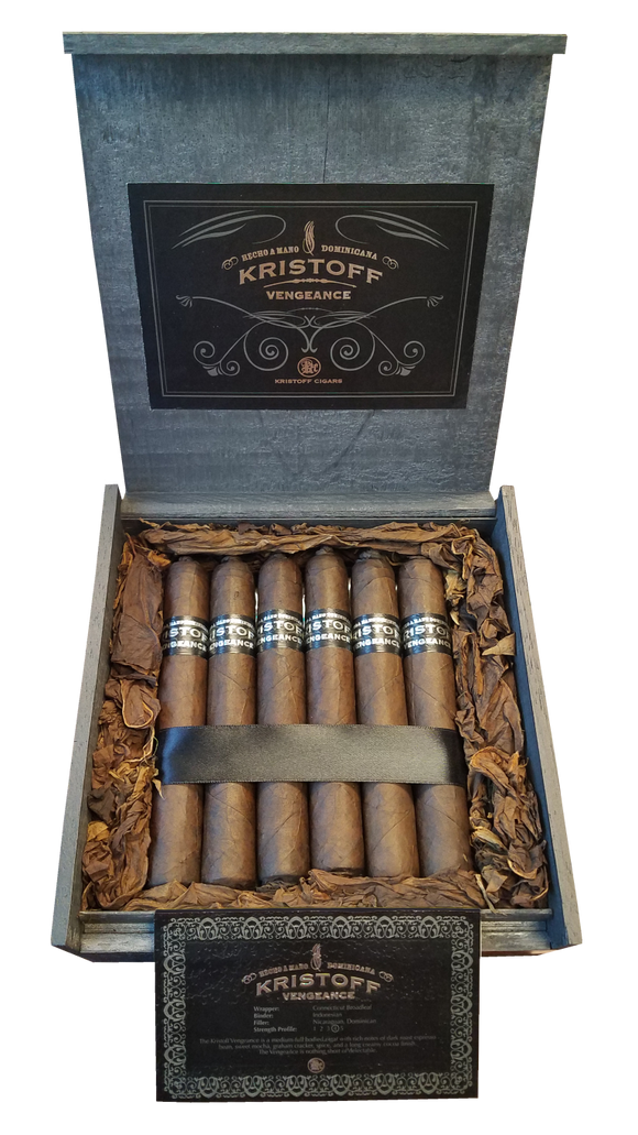 Kristoff Vengeance Robusto 20 Count Box