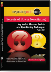 Secrets of Power Negotiating® Key Verbal Phrases and Questioning Techniques