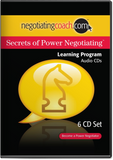 Secrets of Power Negotiating® Audio Learning Program MP3 Files or 6-CD Set