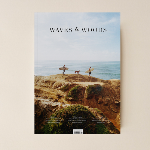 Waves & Woods Magazin Cover