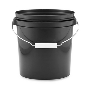 1 Gallon Black Pail-ENC