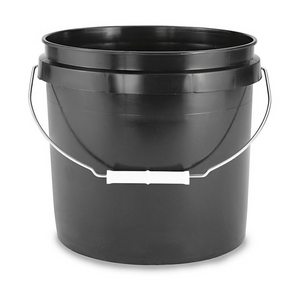 2 Gallon Black Pail