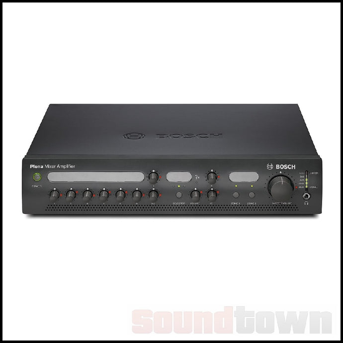 BOSCH PLENA 2MA120 MIXER AMPLIFIER 120WATT (TWO-ZONE)