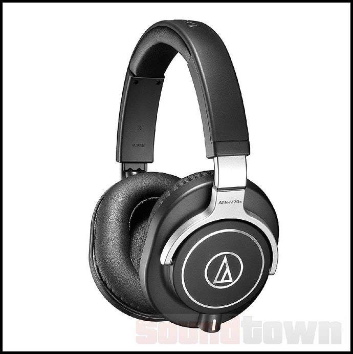 AUDIO TECHNICA M70X HEADPHONES (EX-DISPLAY) (NO-BOX)