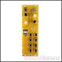 Load image into Gallery viewer, MAKER.IE PATCHBLOCK EURORACK PROGRAMMABLE MULTI-FUNCTIONAL MODULE (YELLOW)