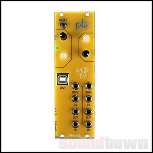 MAKER.IE PATCHBLOCK EURORACK PROGRAMMABLE MULTI-FUNCTIONAL MODULE (YELLOW)