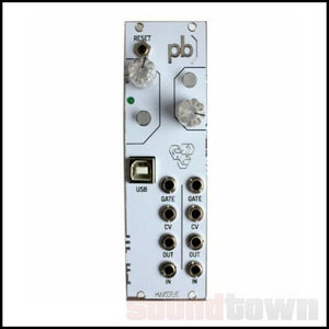 MAKER.IE PATCHBLOCK EURORACK PROGRAMMABLE MULTI-FUNCTIONAL MODULE (WHITE)